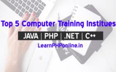Computer Training Institute in Faridabad