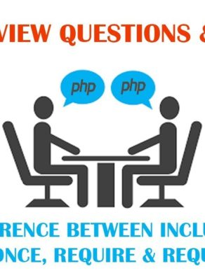Difference between include() and require() function in PHP 7