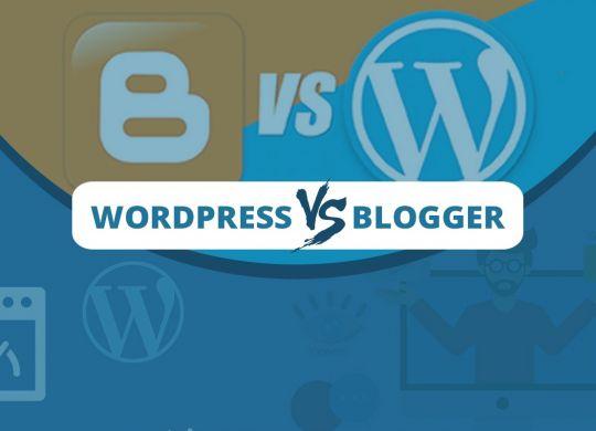 Worpress vs blogger