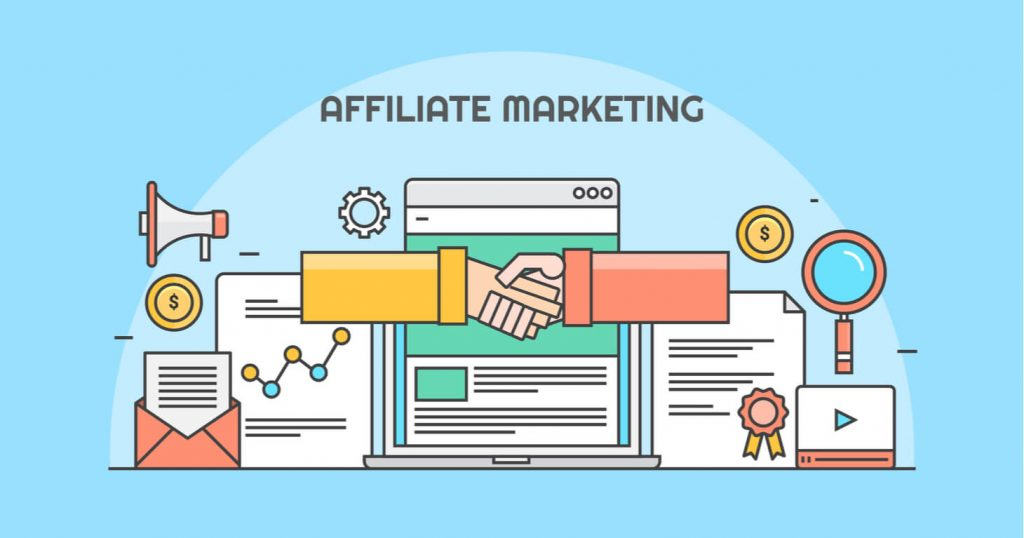 affiliate marketing make money online