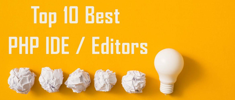 Best PHP IDE Development Tools
