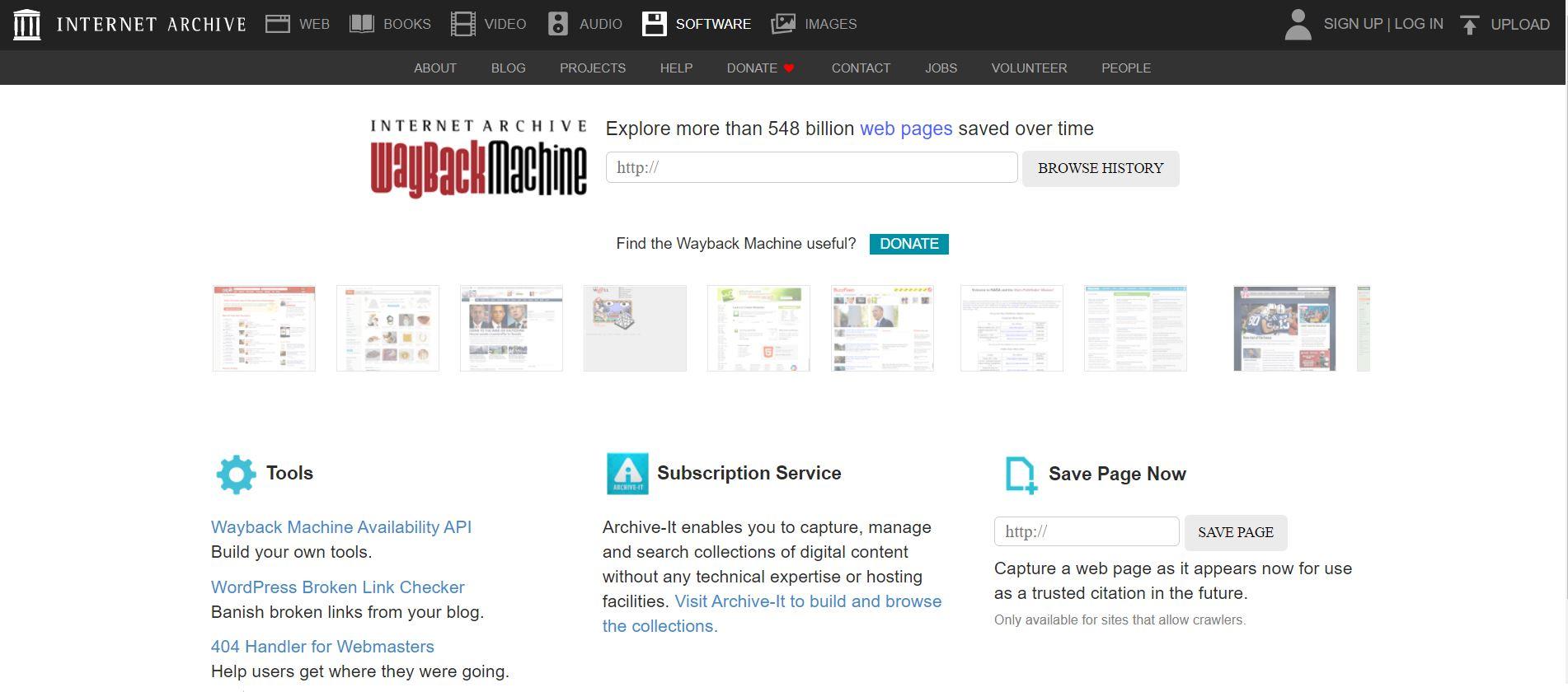 Wayback Machine - Download old deleted websites in 2021