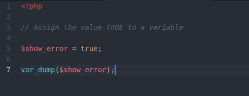 PHP 8 Boolean